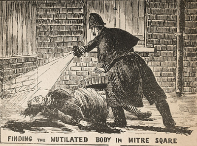 Body of Catherine Eddowes found in Mitre Square!