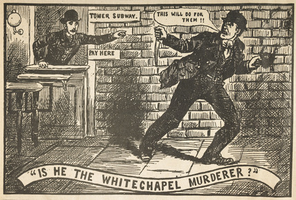 Is he the Whitechapel Murderer - The Illustrated Police News, 1888!