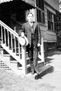 Photo of H. P. Lovecraft, 1919