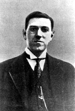 Photo of H. P. Lovecraft, 1921