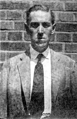 Photo of H. P. Lovecraft, 1931