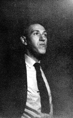 Photo of H. P. Lovecraft, 1933