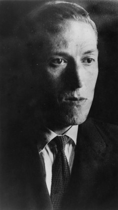 Photo of H. P. Lovecraft, 1934