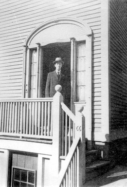 Photo of H. P. Lovecraft, 1935