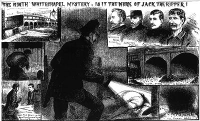 The Pinchin Street Torso - The Illustrated Police News!