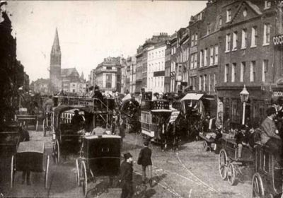 Whitechapel High Street looking East, 1905