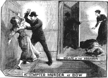 Attack on Ada Wilson - Illustrated Police News