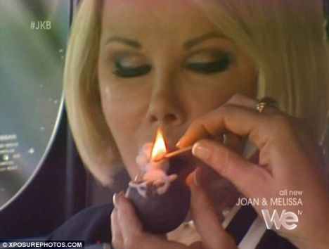 Now Joan takes an even BIGGER old toke... even NICER!